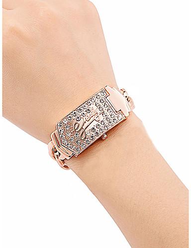 Žene Luxury Watches Ručni satovi s mehanizmom za navijanje Diamond Watch Kvarc Nehrđajući čelik Rose Gold 30 m Vodootpornost New Design Analog dame Vintage Moda - Pink Rose Gold