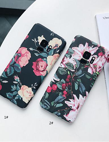 Θήκη Za Samsung Galaxy S9 / S9 Plus / S8 Plus Mutno / Uzorak Stražnja maska Cvijet Tvrdo PC