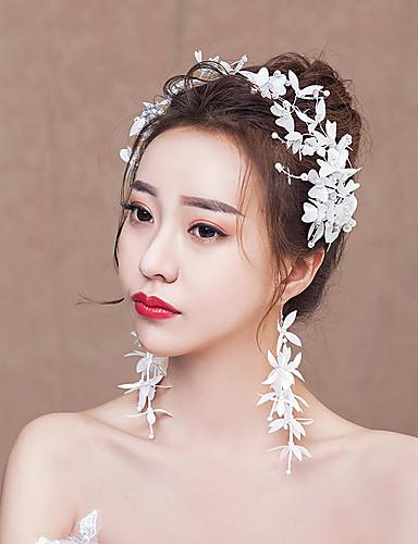 3c2bb7198b53d العروس زهري استايل صيني أنيق أغطية الرأس مخالب الشعر اطقم ذهب و مجوهرات من  أجل مباركة عروس حفلة الزفاف نسائي للفتيات مجوهرات