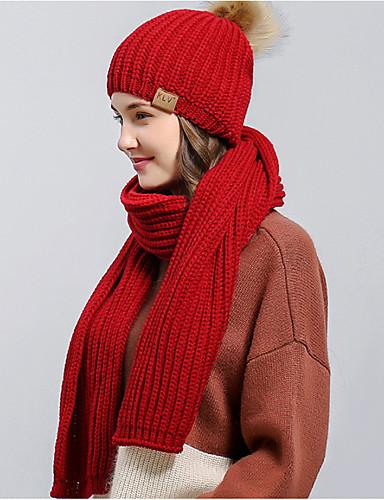 Dame Basale Blød Hat Ensfarvet