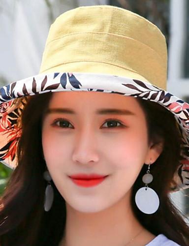 abordables Sombreros de mujer-Mujer Gorro / Sombrero Fedora / Sombrero para el sol - Básico Estampado