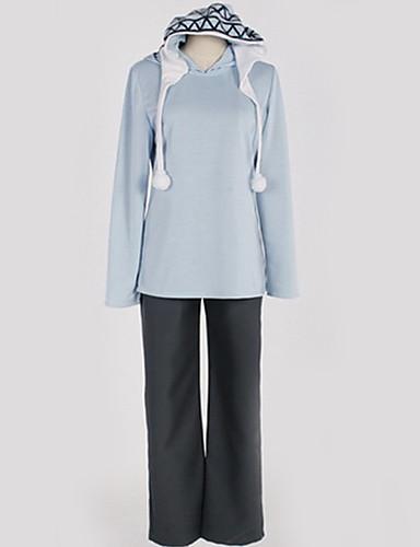 abordables Cosplay de Animes-Inspirado por Noragami Yukine Animé Disfraces de cosplay Japonés Trajes Cosplay Un Color Top / Pantalones / Camiseta Para Hombre / Mujer