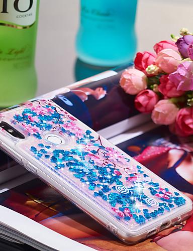 Θήκη Za Xiaomi Xiaomi Mi Mix 2S Otporno na trešnju / Šljokice Stražnja maska Šljokice / Cvijet Mekano TPU