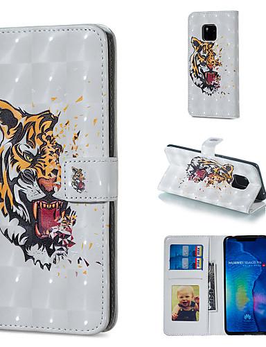 Θήκη Za Huawei Huawei Honor 10 / Huawei Honor 8X / Honor 7A Novčanik / Utor za kartice / sa stalkom Korice Životinja Tvrdo PU koža