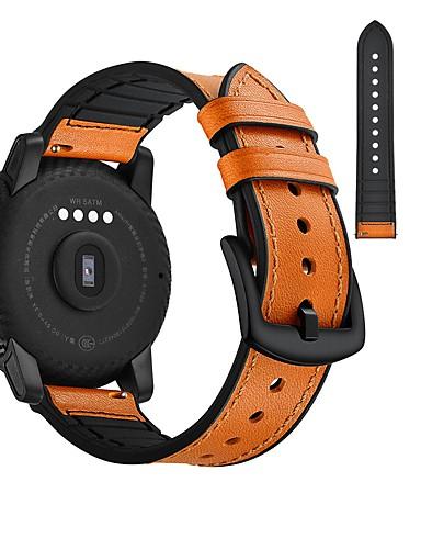 Pogledajte Band za Huami Amazfit Bip Younth Watch / Samsung Galaxy Watch 42 Samsung Galaxy Sportski remen / Klasična kopča Prava koža Traka za ruku