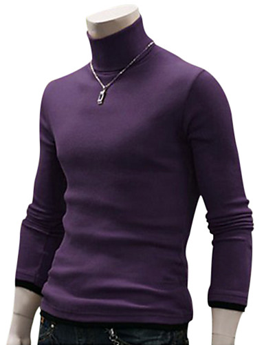 51cdc012218d Χαμηλού Κόστους Αντρικές Μπλούζες με Κουκούλα  amp  Φούτερ-Ανδρικά  Καθημερινά   Σαββατοκύριακο Μονόχρωμο Μακρυμάνικο
