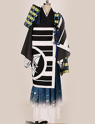 povoljno Anime kostimi-Inspirirana Touken Ranbu Cosplay Anime Cosplay nošnje Japanski Cosplay Suits Posebni dizajni More Accessories / Kostim Za Muškarci / Žene