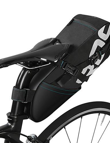 daf4c34ca1 ROSWHEEL 10 L Τσάντα για σέλα ποδηλάτου Αντανακλαστικό Αδιάβροχο Αδιάβροχο  Φερμουάρ Τσάντα ποδηλάτου Πολυεστέρας Τσάντα ποδηλάτου Τσάντα ποδηλασίας ...