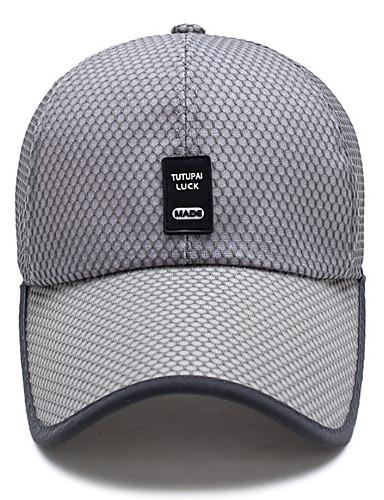cheap 2/21-Unisex Basic Baseball Cap - Solid Colored Mesh