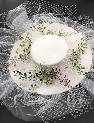 abordables Chapeau & coiffure-Tulle Fascinators avec Bonnet 1 Pièce Mariage / Fête / Soirée Casque