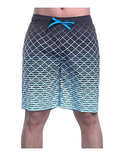 Hombre Delgado Pantalones de Deporte   Shorts Pantalones - Bloques Azul  Piscina e4f06270b03