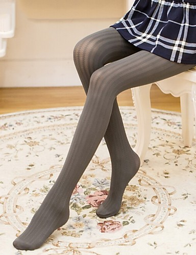 d857aebfc6256 Cosplay Student / School Uniform Women's Adults' Princess Lolita Tights  Girly Socks / Long Stockings Thigh High Socks Navy Blue Gray Coffee Lines /  Waves ...