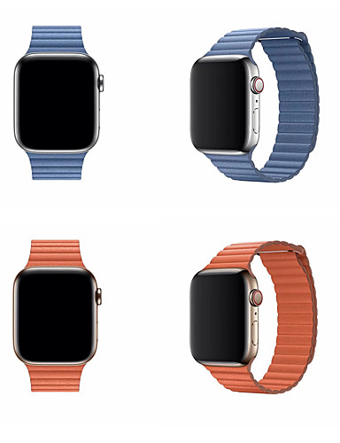 Watch Band varten Apple Watch Series 4/3/2/1 Apple Perinteinen solki Aito nahka Rannehihna