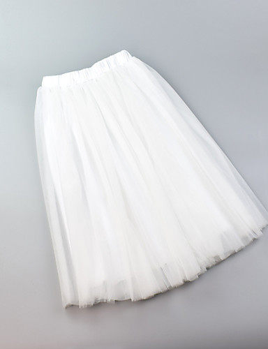 cheap Historical & Vintage Costumes-Petticoat Hoop Skirt Tutu Under Skirt 1950s Pink Fuchsia Ink Blue Petticoat / Crinoline