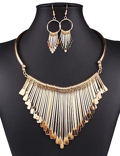 Per donna Vintage Essenziale Perle finte Lega Tinta unita