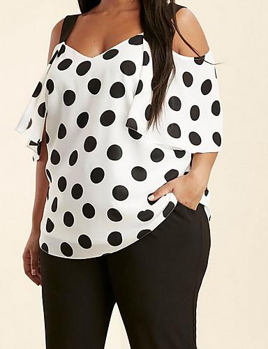 Blusa Per Donna Con Stampe, A Pois #07213343