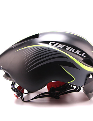 cheap Cycling-CAIRBULL Adults Bike Helmet with Goggle Aero Helmet 8 Vents CE EN 1077 Impact Resistant Lightweight Ventilation EPS Sports Mountain Bike / MTB Road Cycling - Pink B E