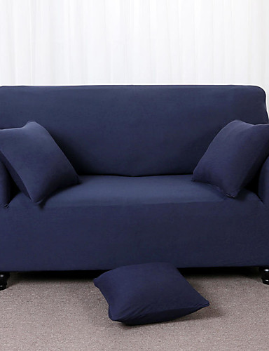 cheap Room-Sofa Cover Solid Colored Pigment Print Polyester Slipcovers