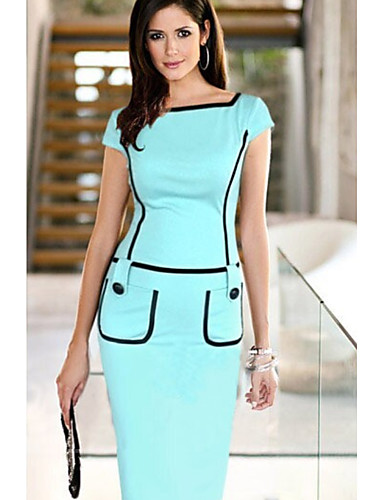 cheap Women  039 s Dresses-Women  039 s Elegant Bodycon Dress f6e33a95ff37