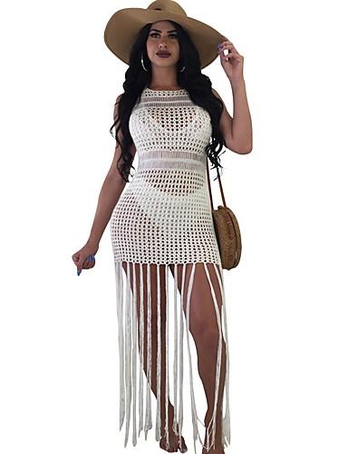 Il Prezzo Più Economico Per Donna Bianco Intero Costumi Da Bagno - Tinta Unita M L Xl Bianco #07195967