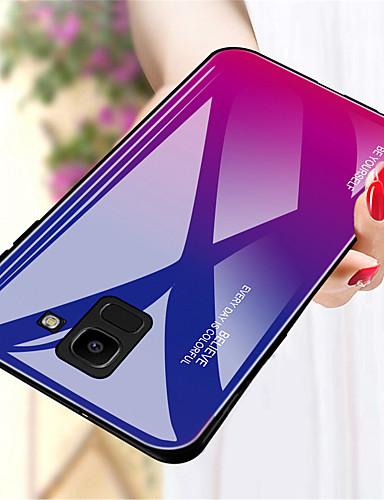 c1cfd98727a Funda Para Samsung Galaxy A8 Plus 2018 / A8 2018 Antigolpes Funda Trasera  Gradiente de Color