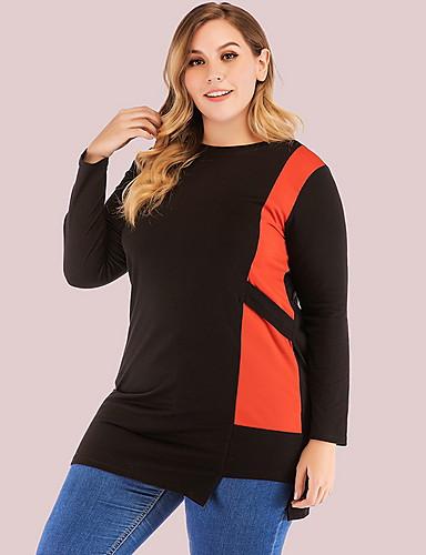 Audace T-shirt Per Donna Fantasia Geometrica Cotone Verde Xxl #07152746