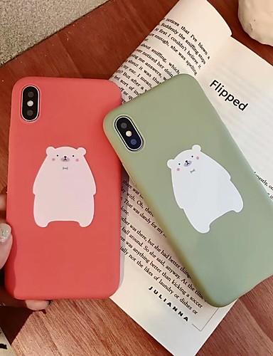 Etui Käyttötarkoitus Apple iPhone XS / iPhone XR / iPhone XS Max Himmeä Takakuori Piirretty Pehmeä TPU