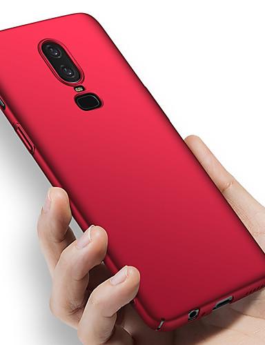 Etui Käyttötarkoitus OnePlus OnePlus 6 / One Plus 6T / One Plus 5 Iskunkestävä / Ultraohut / Himmeä Suojakuori Yhtenäinen Kova PC