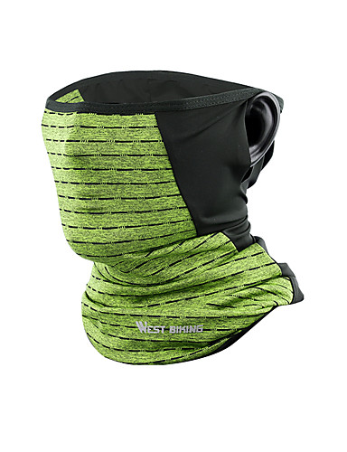 cheap Cycling Clothing-WEST BIKING® Neck Gaiter Neck Tube Blue Grey Dark Green UV Resistant Breathability Soft Bike / Cycling Unisex Solid Colored Polyester Taffeta / Stretchy