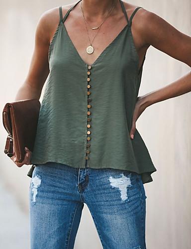 b34d90234b5cc abordables Camisas y Camisetas para Mujer-Mujer Tank Tops