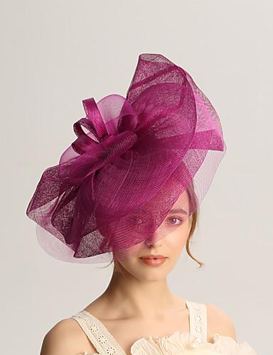 abordables Chapeau & coiffure-Lin Fascinators avec Fantaisie 1pc Mariage / Occasion spéciale Casque