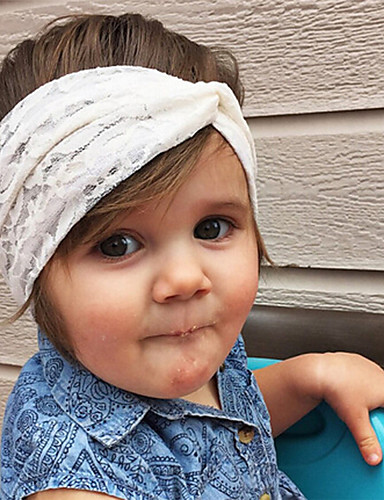 Toddler Unisex Basic / Sweet Solid Colored Floral Style Acrylic Hair Accessories Yellow / Khaki / Lavender One-Size