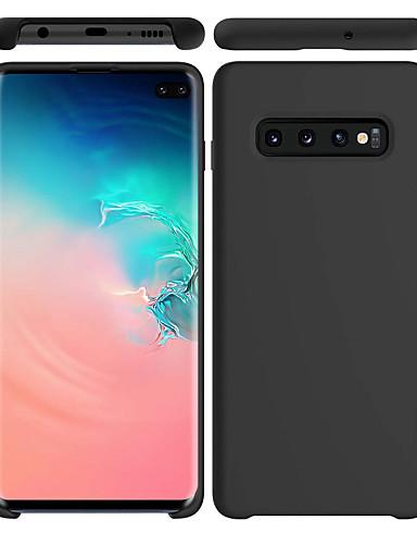 Etui Käyttötarkoitus Samsung Galaxy S9 / S9 Plus / S8 Plus Himmeä Takakuori Yhtenäinen Pehmeä silikageeli
