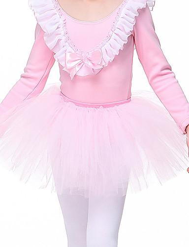 povoljno Odjeća i obuća za ples-Dječja plesna odjeća / Balet Suknjice Djevojčice Trening / Seksi blagdanski kostimi Chinlon Čipka Prirodno Tutus