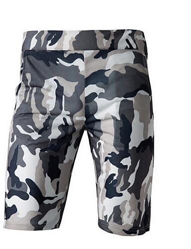 2019 Nuovo Stile Per Uomo Militare Pantaloncini Pantaloni - Con Stampe Grigio Scuro #07243630 Ufficiale 2019