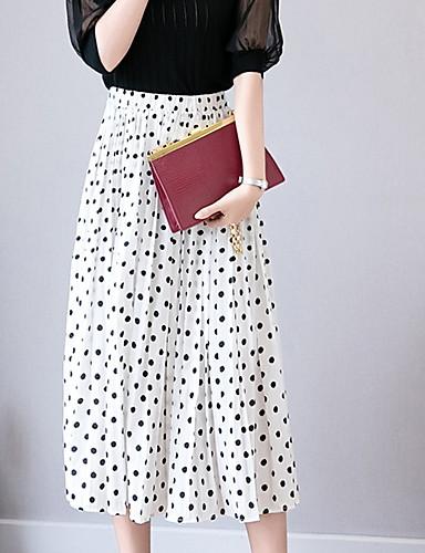 195434d0b281 Γυναικεία Κούνια Βασικό Φούστες - Πουά. $27.16. USD $18.99 · Χαμηλού  Κόστους Γυναικείες Φούστες-γυναικεία ασύμμετρα φούστες swing ...