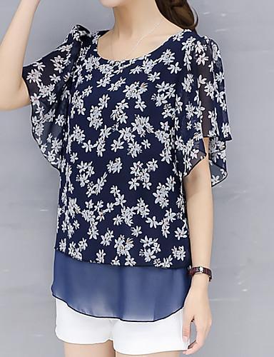 a327386c95 abordables Camisas y Camisetas para Mujer-Mujer Blusa Geométrico Rosa XXL · Mujer  Blusa Geométrico Rosa XXL