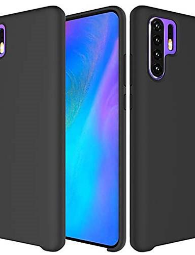 Etui Käyttötarkoitus Huawei Huawei P20 / Huawei P20 Pro / Huawei P20 lite Himmeä Takakuori Yhtenäinen Pehmeä Silikoni