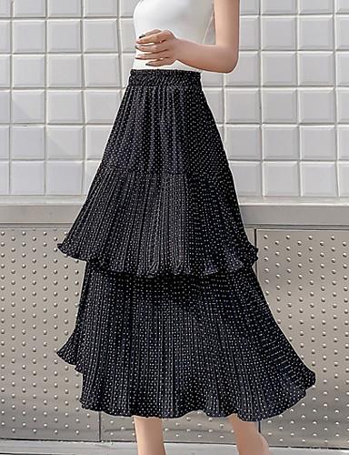 e4bf3d5d4739 Γυναικεία Γραμμή Α Βασικό Φούστες - Πουά. $24.30. USD $16.99(4). Χαμηλού  Κόστους Γυναικείες ...