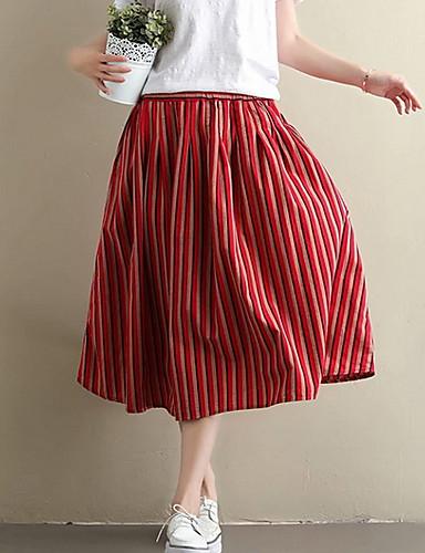 9a3cf13f615 γυναικεία midi μια φούστα γραμμή - ριγέ. $30.02. USD $20.99 · Χαμηλού  Κόστους Γυναικείες Φούστες-Γυναικεία ...
