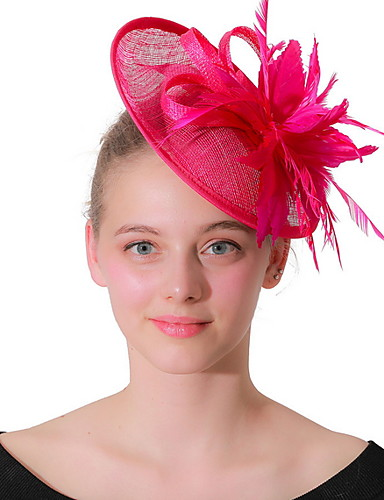 Efficiente Per Donna Kentucky Derby Elegante Tessuto Tinta Unita #07291215