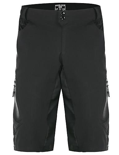 144bbe02ec WOSAWE Men's Cycling Shorts Bike MTB Shorts Bottoms Breathable Moisture  Wicking Quick Dry Sports Polyester Lycra Black / Gray Mountain Bike MTB  Clothing ...