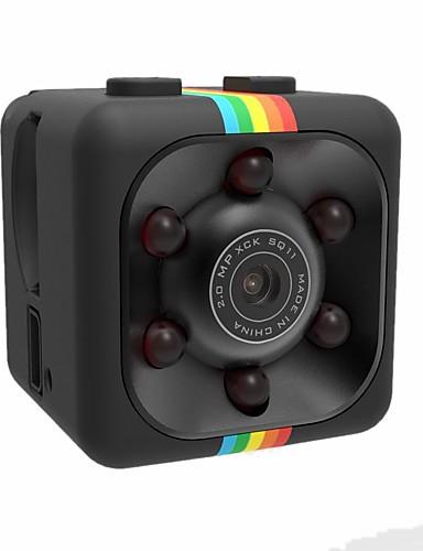 povoljno IP kamere-1080p mini kamera sq11 hd videokamera noćno gledanje sportski dv video rekorder detekcija pokreta puni hd 2.0mp infracrveni noćni vid sportovi dv video diktafoni dv kamera