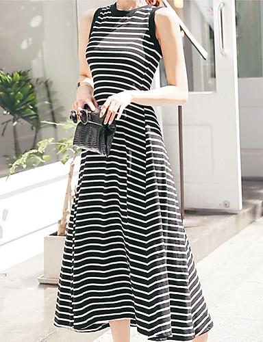 זול שמלות נשים-מקסי אחיד - שמלה סקייטר\מחליקה על הקרח בגדי ריקוד נשים