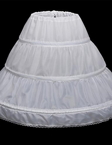 abordables Dessous de Robe de Mariage-Anniversaire / Fête / Soirée Déshabillés Satin Ras du Sol Style classique / Mariage avec Dentelles en bas / Lacet