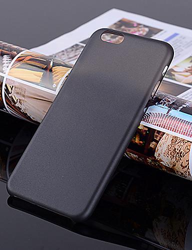 מגן עבור Apple iPhone 7 / iPhone 7 Plus אולטרה דק / מזוגג / שקוף כיסוי אחורי אחיד קשיח פלסטי ל iPhone 7 Plus / iPhone 7