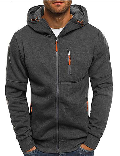 אחיד / 3D Jacket hoodie יום יומי בגדי ריקוד גברים