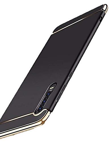 מגן עבור Huawei Huawei P20 / Huawei P20 Pro / Huawei P20 lite ציפוי כיסוי אחורי אחיד קשיח PC