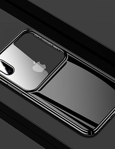 מגן עבור Apple iPhone XS / iPhone XR / iPhone XS Max מראה כיסוי אחורי אחיד קשיח זכוכית משוריינת