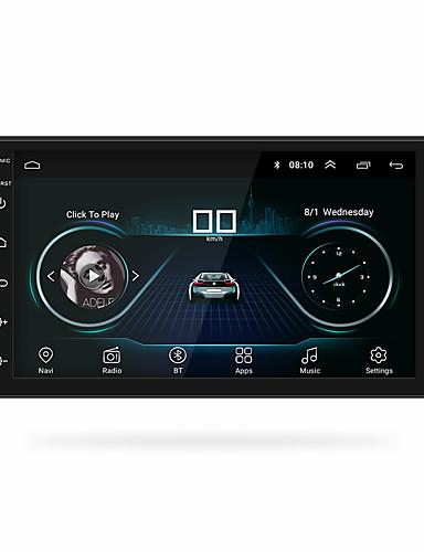 povoljno Auto elektronika-chelong 7200c 7 inča 2 din android 8.1 auto mp5 player gps / ugrađeni bluetooth / kontrola upravljača za univerzalnu podršku za rca mpeg / avi / mov mp3 / wav / ogg jpeg / stereo radio
